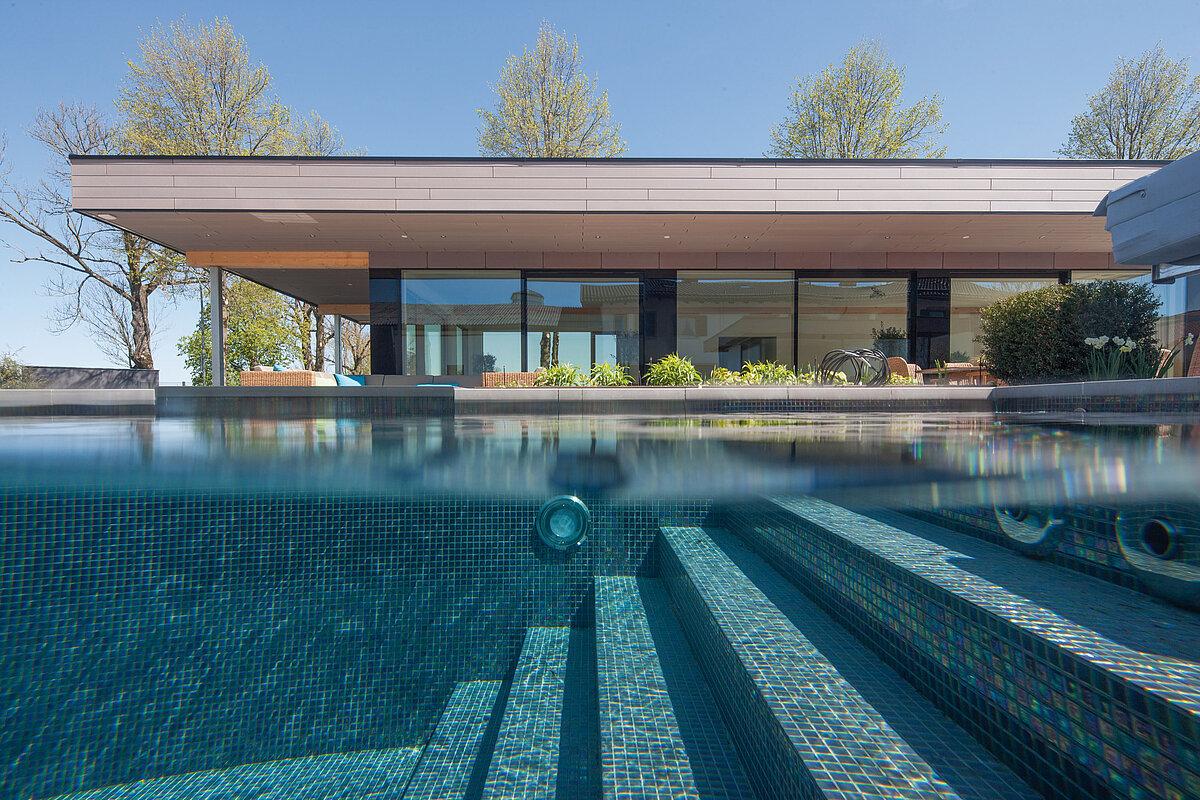 Custom-made prefabricated mosaic pools - RivieraPool ...