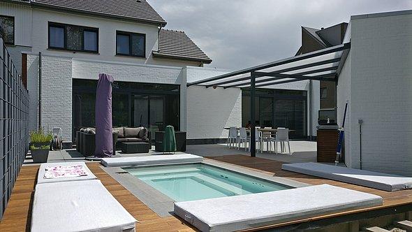 c side der kompakte minipool f r terrassen und. Black Bedroom Furniture Sets. Home Design Ideas